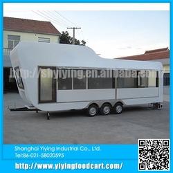 YY-BT800 Shanghai Spacious New design Vending Outdoor selling food truck