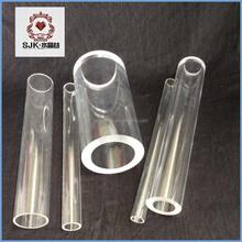 Plastic Tubing , Clear Transparent Cast Large Acrylic Tube
