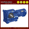 K series helical bevel gear box for bitumen equipments