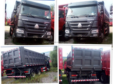 China Best Dump Truck Sinotruk HOWO Series Tipper Truck 6*4 ZZ3257N3241 With Best Price and Good Quality For Sales