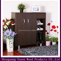 home furniture convbenient shoe cabinet with 2 doors