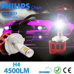 Qeedon aftermarket bay15d 18- led car lampada 18 smd-5050 h7 ba9/233 anti bulb