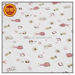"""100% cotton Soft Stretchy jersey knit cotton fabric monkeys pattern, 70"""" wide"""