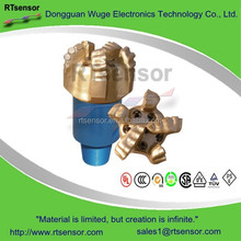 Custom Made Type 8 1/2 19mm Diameter 5 Blade Hard Rock Diamond Core Natural Gas Oil PDC Drill Bit For Sandstone Drilling