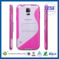 ultra delgado cristal ultrafino skin del teléfono móvil para samsung i9600