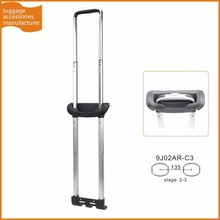 Guangzhou JingXiang Portable Aluminum Luggage Handle Leisure Trolley Handle Parts For Luggage Carrier