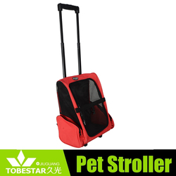 good quality dog products red bag/cages for lonely pet