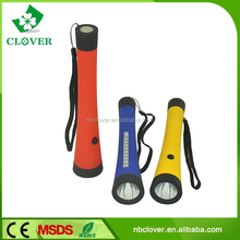 Made in China plastic 1 W and 10 LED most powerful led flashlight