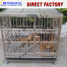 """24"""" 30"""" 36"""" 42"""" 48"""" Steel Wire Dog Cage, Metal Pet Cage"""