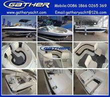 Hot sale factory direct sale 5.8M fiberglass fishing boat, sport boats,speed boat