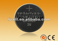 New CR2025 3v durable button cell battery