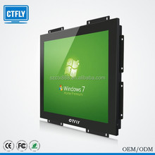 1000nits high brightness of 15 inch open frames computer monitor with DVI
