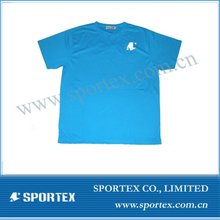 100% polyester dry fit breathable customized t-shirts
