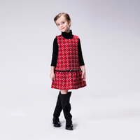 2016 Latest Western Style Warm Winter Dress For Kids
