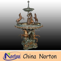 European large bronze horse water fountain NTBF-L204S