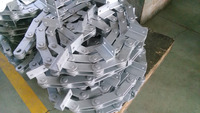 150040 dacromet conveyor chain with welding attachment