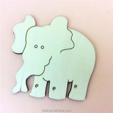Wood elephant shape toy for kids