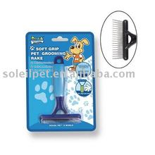 Pet brush , Pet grooming comb