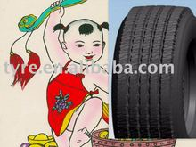 truck tyre/tire, Low heating up