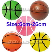 Colored basket balls
