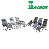High Back Lounge Adjustable 5 Position Reclining Pool Beach Chairs