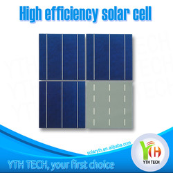 Wholesale A grade 156X156mm 19-19.7% Efficiency PV/ Photovoltaic solar cell price from Taiwan