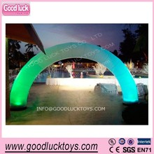 2014 outdoor advertising Inflatable lighted arch / Led inflatable arch for sale