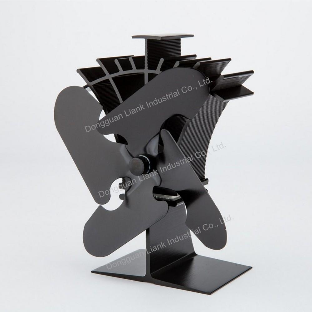 2015 liank cologique chaleur propuls po le bois ventilateur ventilateur id du produit. Black Bedroom Furniture Sets. Home Design Ideas