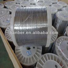 0.28mm,0.30mm redrawing galvanized round wire(galvanizado alambre) 7kgs DIN160 spool