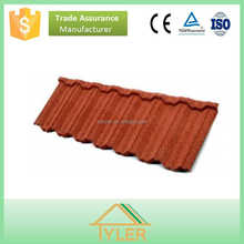 50 Years Warranty Lightweight Stone Coated Roof Tiles