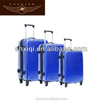 hard shell 4 wheels spinner trolley case luggage