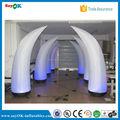 decoração do casamento inflável diodo emissor de marfim balão inflável bolota para venda