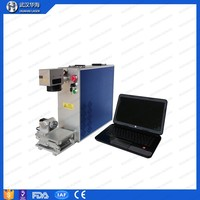 Hot Sale 20W Fiber Laser Marking Machine for Signs and Logos