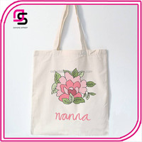 Cheap Popular Selling Eco Friendly Cotton Shopping Tote Bag Canvas Bag OEM Welcomed