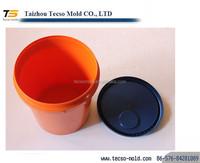 Clear paint bucket mould ,plastic drum 200 liters