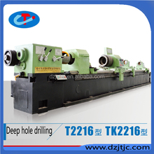 T2216 The deep hole processing low price and high quality deep hole boring/drilling machine