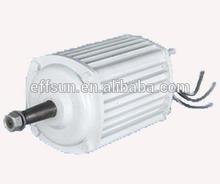 Caliente fabricante 220v/110v ac motor eléctrico para las turbinas de viento