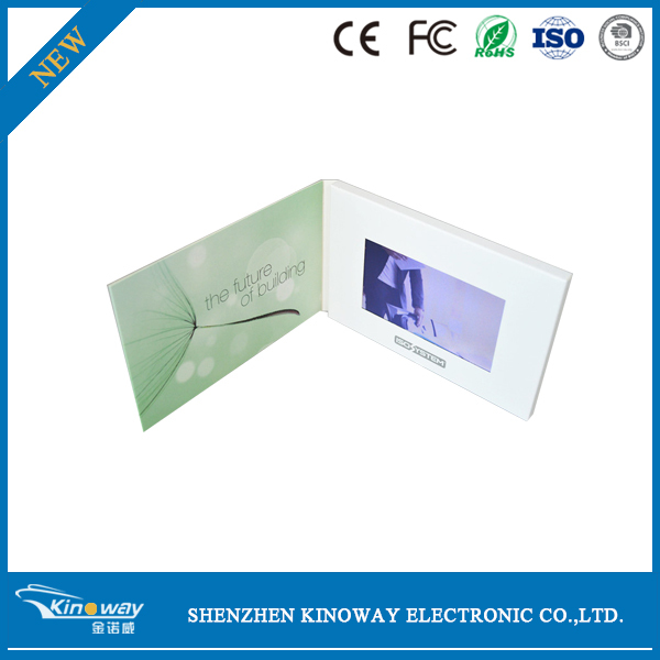 video Card wholesale flash led light Promotion Advertising Product LCD Display Video card Brochure led video card