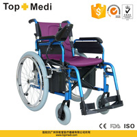 New Rehabilitation Therapy Supplies China supplier economic aluminum handicapped power electric wheelchair