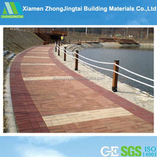 brick pattern wood panel / Patio Decking Paver for Outdoor Landscape Project