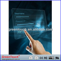 """GreenTouch usb 80"""" real 2-point interactive touch foil for win7/8"""