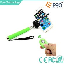 Mini wireless portable bluetooth with remote controll Selfie stick for mobile accessory