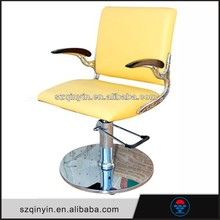 Factory price comfortable leather PU/PVC portable beauty hair salon chair