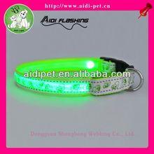 LED flashing sporting dog collar
