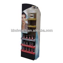 skin makeup cream cardboard paper display floor stand rack box
