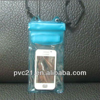 Waterproof case and clear travel pouch