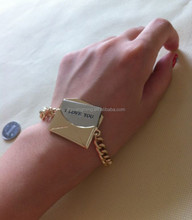 2015 Newest Bird Bracelet e envelope Charm Multilayer Leather Infinity Bracelets Jewelry Red Braid Bracelets