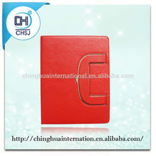 Unique smart pu leather tablet sleeve for iPad 2/3 from Dongguan factory