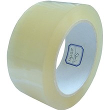 2 IN x 55 YD Clear Carton Sealing Tape - 6 Roll Sleeveing