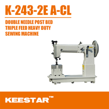 Keestar K-243-2 A-CL post bed leather shoe repair sewing machine
